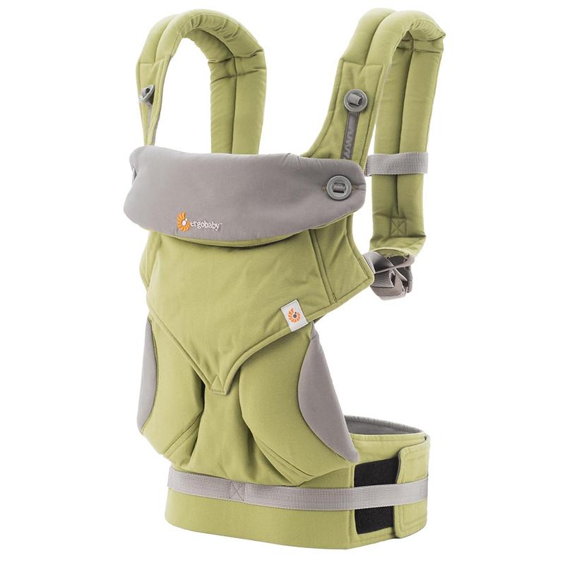 【乐海淘】美国Ergobaby多功能四式360婴儿背带(绿色)香港直邮