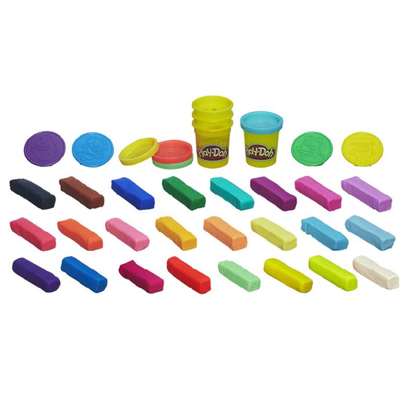 孩之宝Hasbro培乐多罐头精灵24色缤纷装 A6122