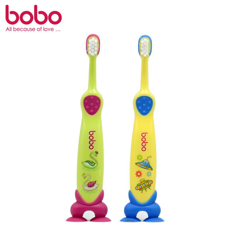 乐儿宝BOBO乳牙护理牙刷