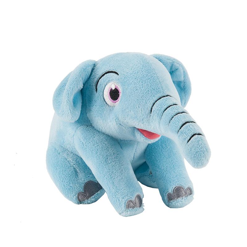 字母毛绒玩具幼蓓小象(蓝)