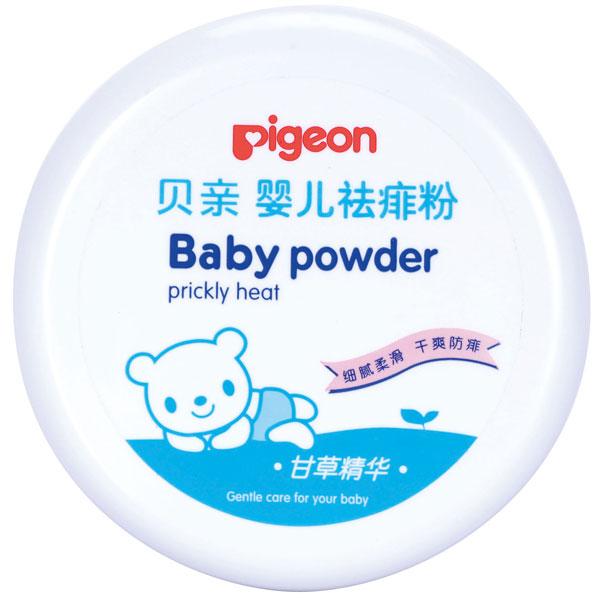 贝亲Pigeon盒装婴儿祛痱粉120g