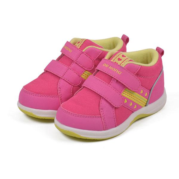 江博士--婴幼儿健康鞋B142303(桃红-21)