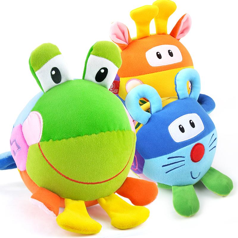 特宝儿(Topbright)三面趣味布球婴儿玩具(0岁及以上适用)