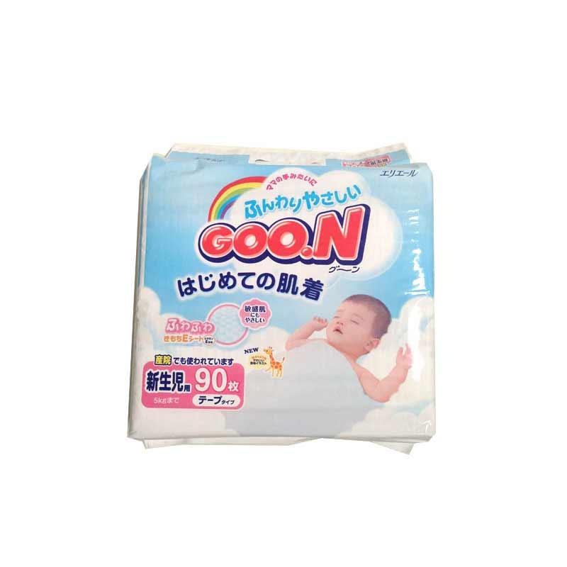 日本GOO.N大王维E系列纸尿裤NB90片中包