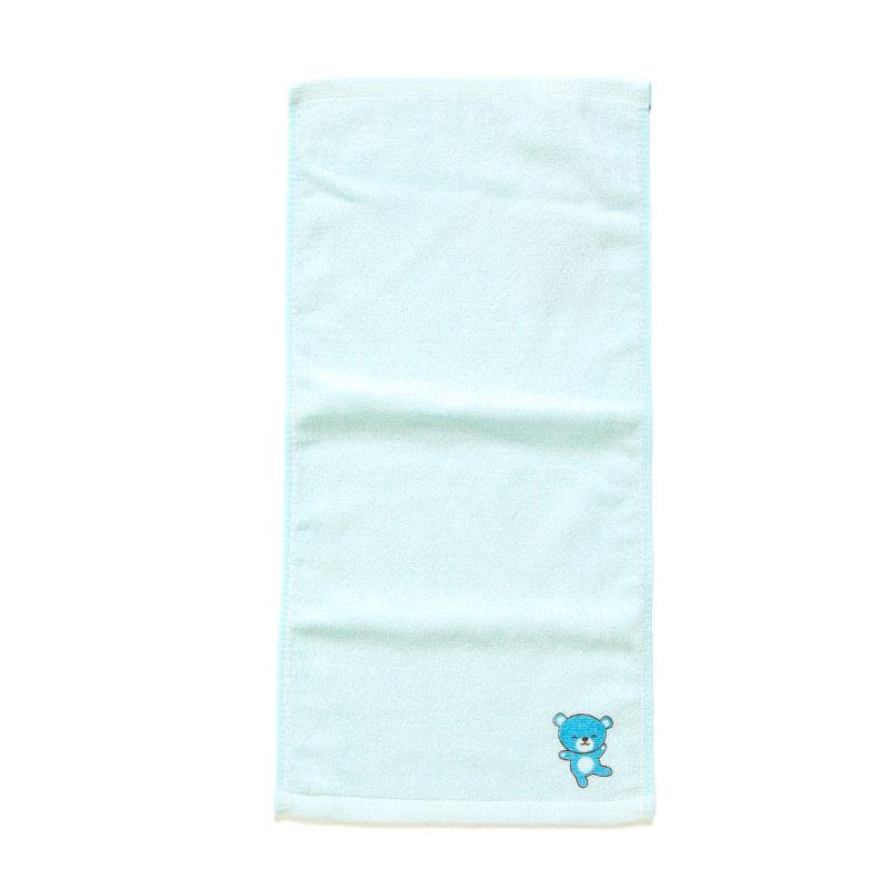 歌瑞贝儿(新)--竹纤维印花面巾GB140-039CU蓝混码