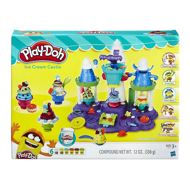 孩之宝(Hasbro)培乐多冰激凌城堡套装