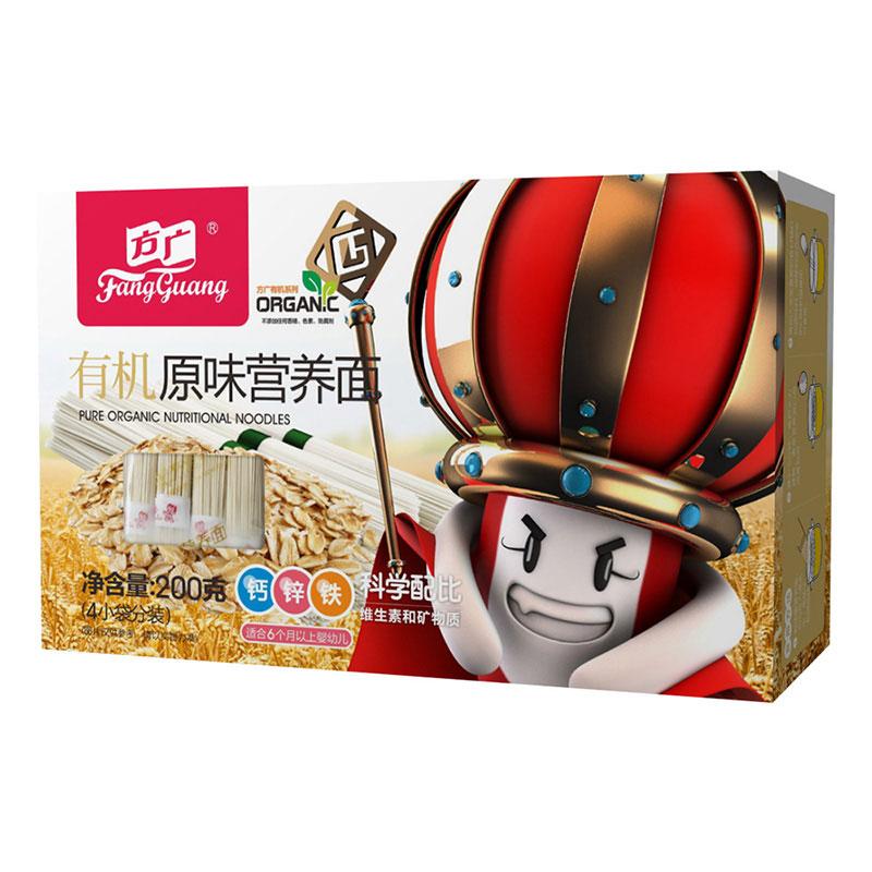 方广有机原味营养面200g盒