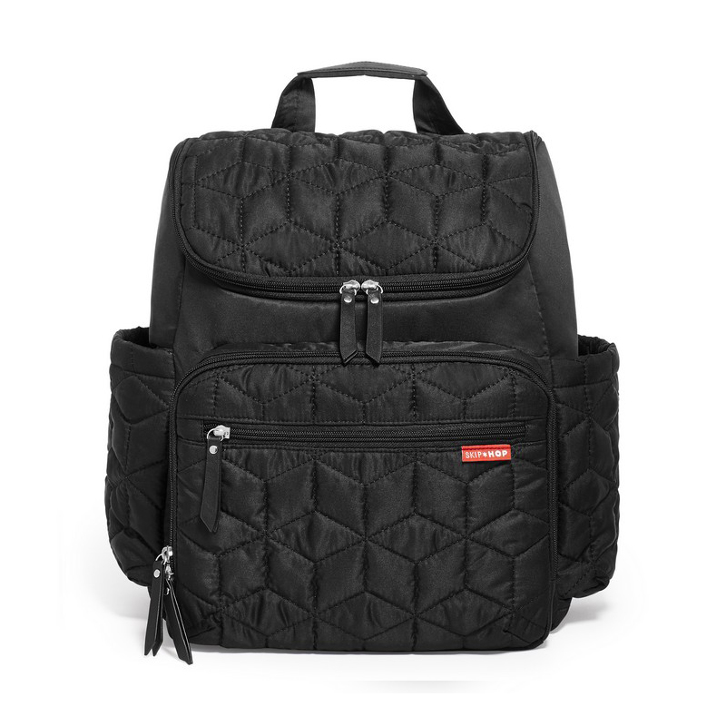 美国 SKIP HOP Forma随身行背包(黑色) Skip Hop Forma Backpack,Black