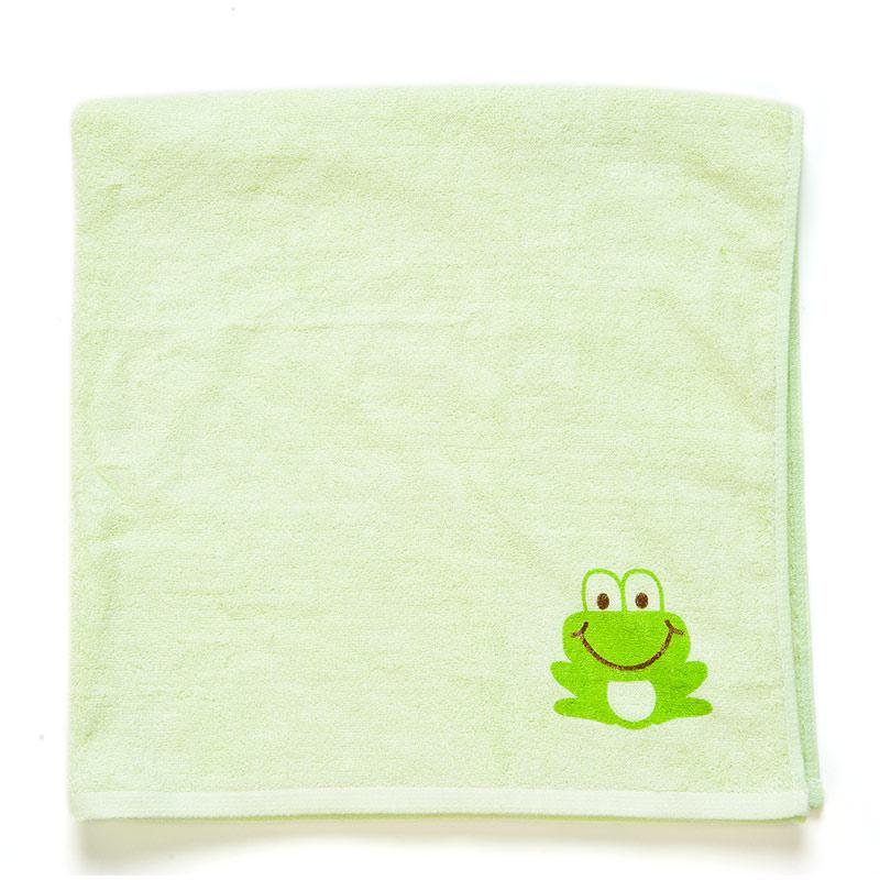 歌瑞贝儿(新)--竹纤维印花浴巾GB140-056CU绿混码
