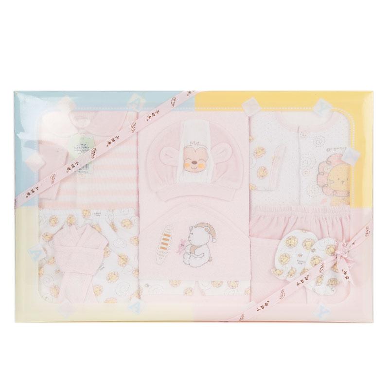 小豆壳(新)--高级服饰礼品盒8件套J-9021粉混码CM盒
