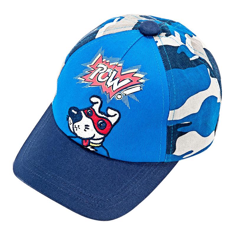 歌瑞家男童蓝色棒球帽
