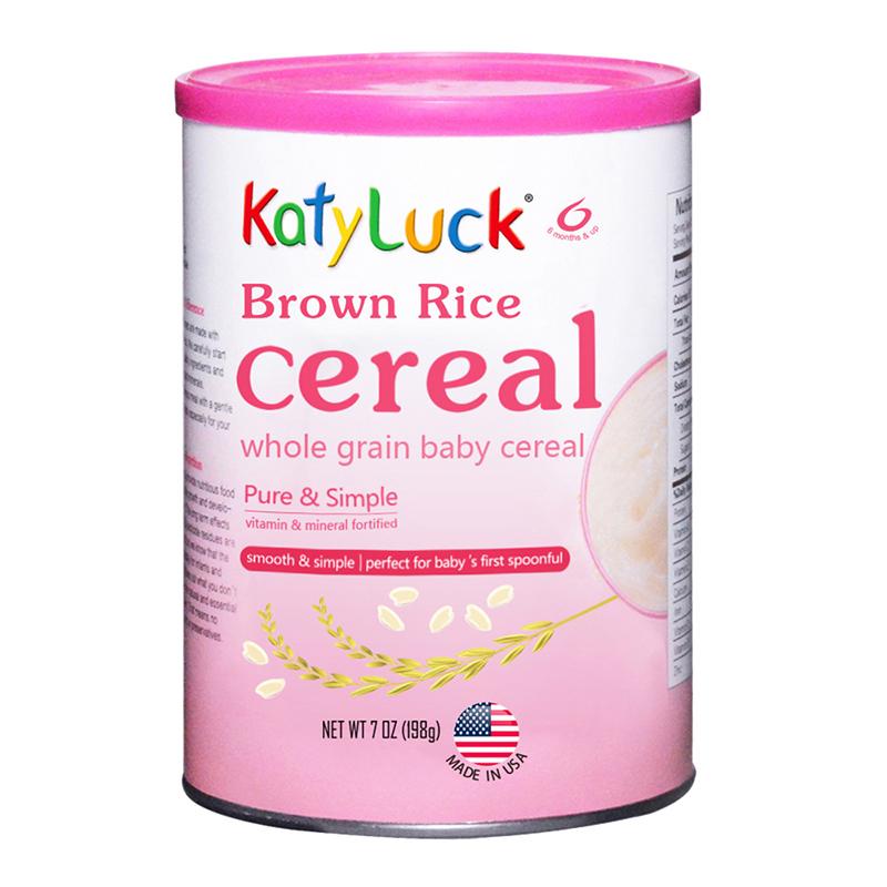 谷百美国原装进口糙米米粉(婴幼儿谷物辅助食品)198g
