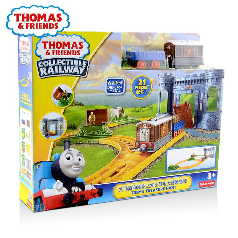 托马斯和朋友之托比寻宝大冒险套装BMF07
