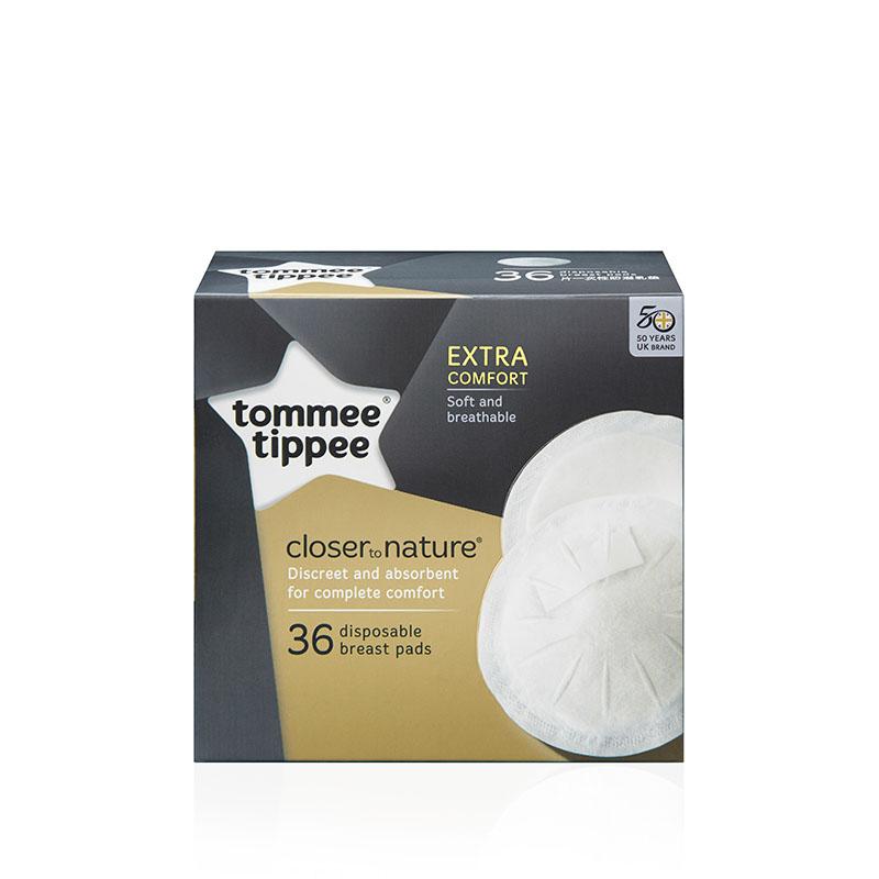 汤美星(Tommee Tippee) 一次性防溢乳垫 36片装