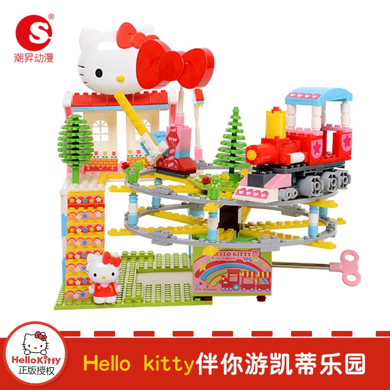 潮�N动漫Hello Kitty凯蒂乐园 动感火车(音乐版)