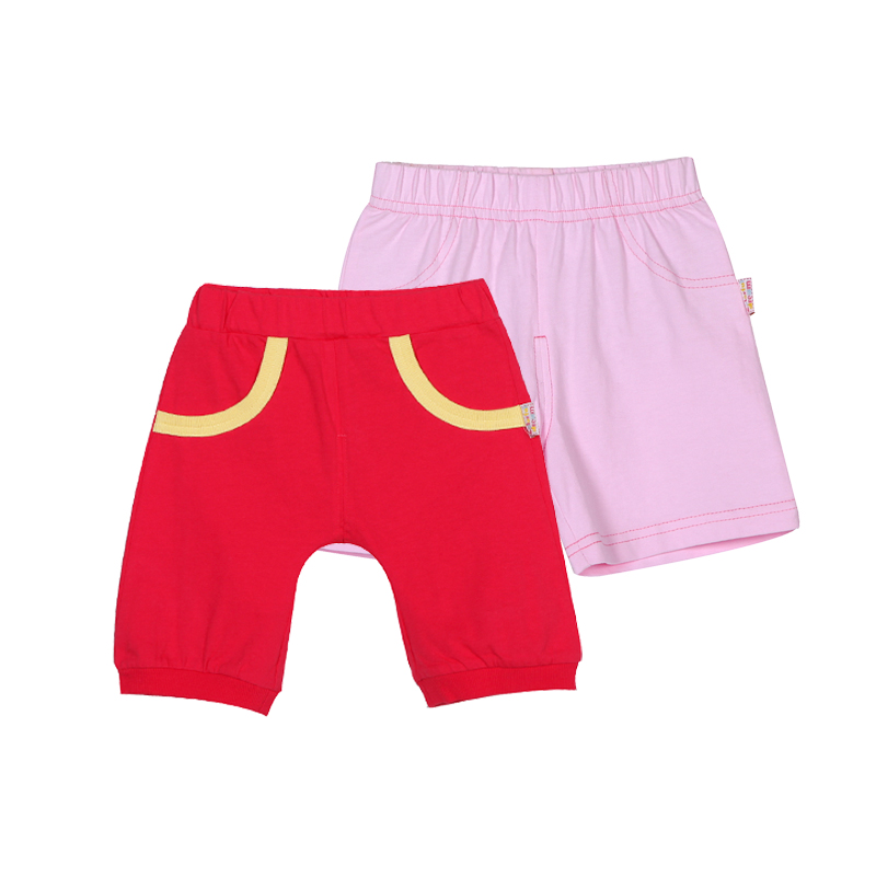 歌瑞贝儿A类女宝宝纯棉两件装裤子2色可选