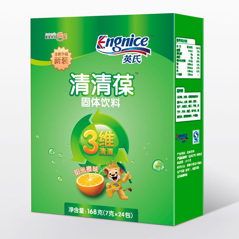英氏Engnice3维清清葆橙味168g天然原料清心火清胃火清肠火4月以上
