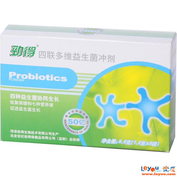 劲得钙--四联多维益生菌冲剂