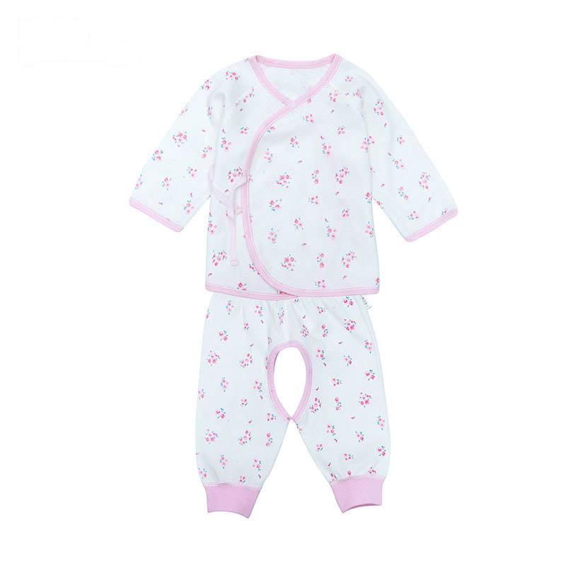 歌瑞家A类男女宝宝双面布和短袍套装2色可选