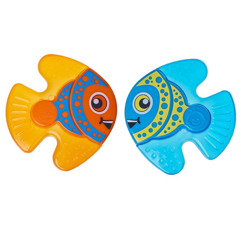 英国韦特儿Vital安全材质不含双酚A小鱼伙伴牙胶