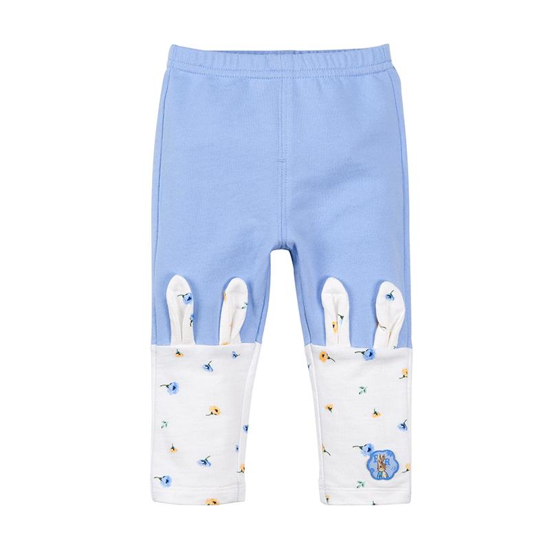 歌瑞家(比得兔)A类女宝宝蓝色打底裤