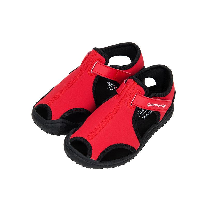 歌瑞家greatfamily男婴时尚运动鞋红