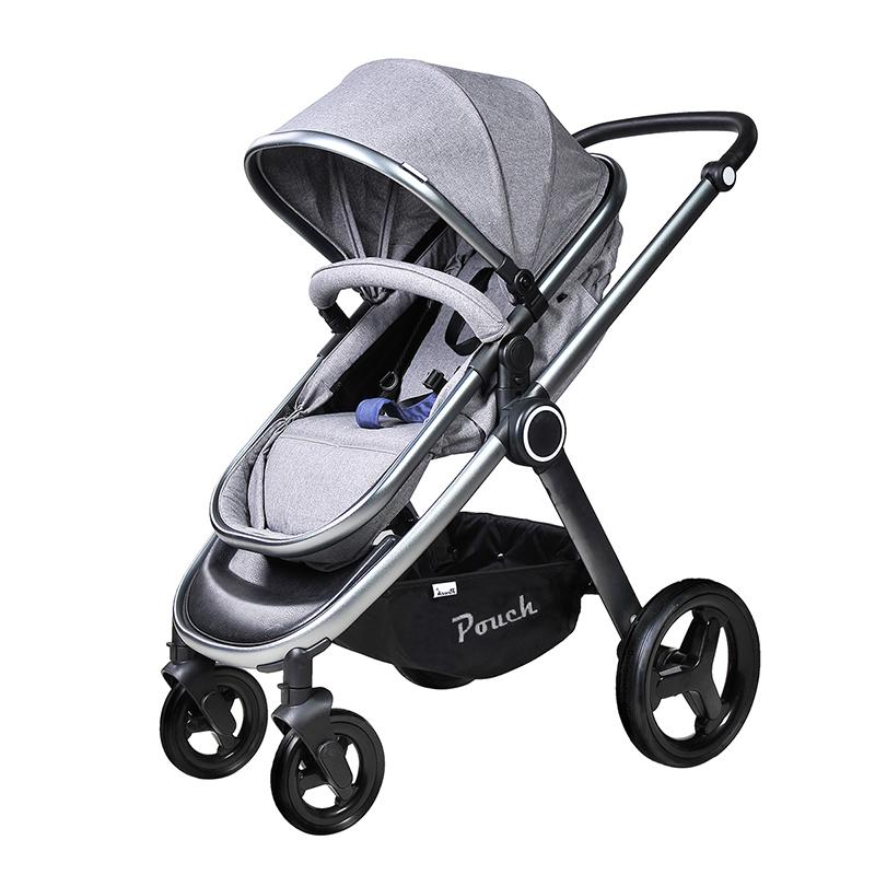 pouch婴儿手推车P70灰色