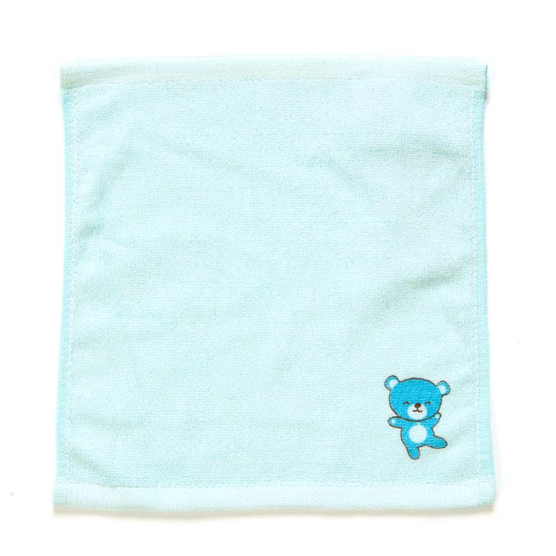 歌瑞贝儿(新)--竹纤维印花方巾GB140-041CU蓝混码