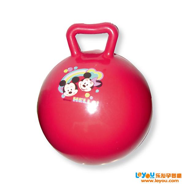 INNOVATIVE伊诺特10寸手柄球宝宝必备球类玩具