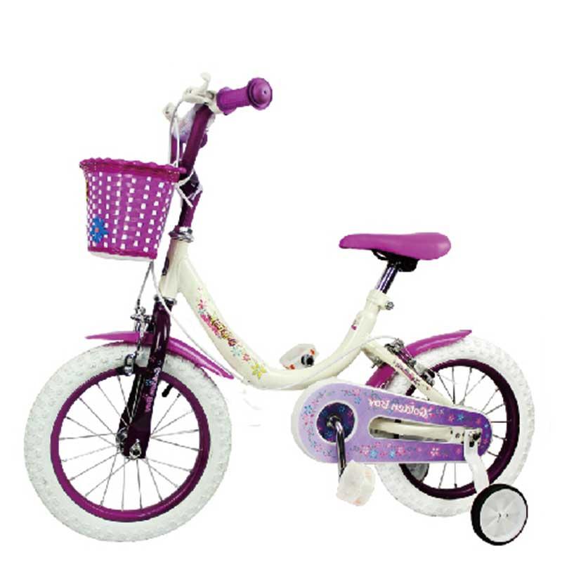 小金童梦幻公主自行车ZX-110 14寸 女 5-8岁