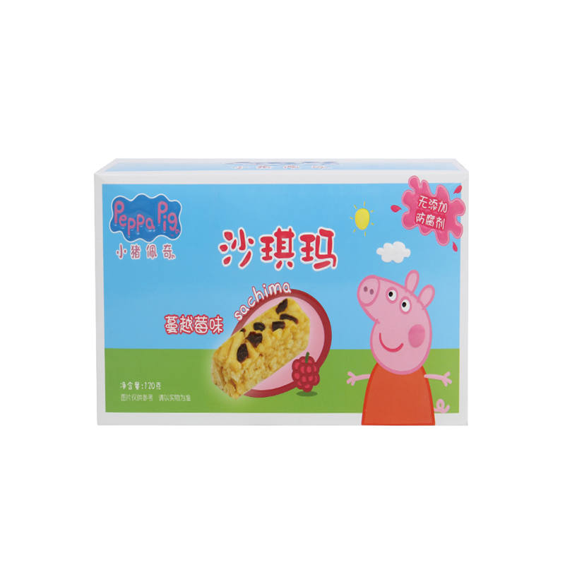 小猪佩奇(食品)--沙琪玛(蔓越莓味)120g