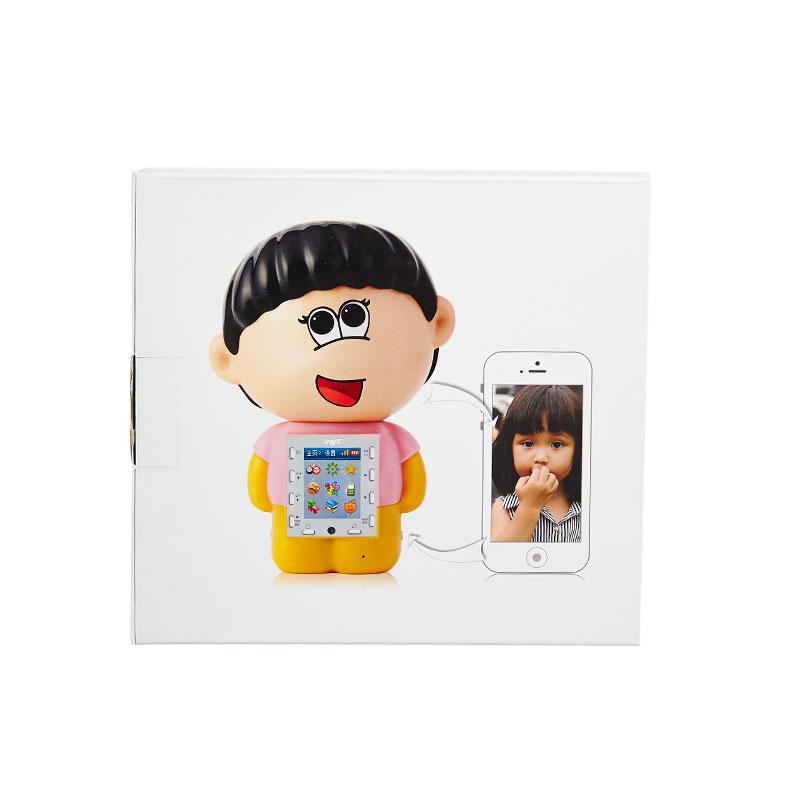 小布叮wifi视频通话早教故事机远程看护宝宝儿童玩具粉色