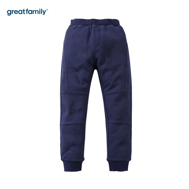 歌瑞凯儿(新)A类可爱精灵藏青色男童针织长裤