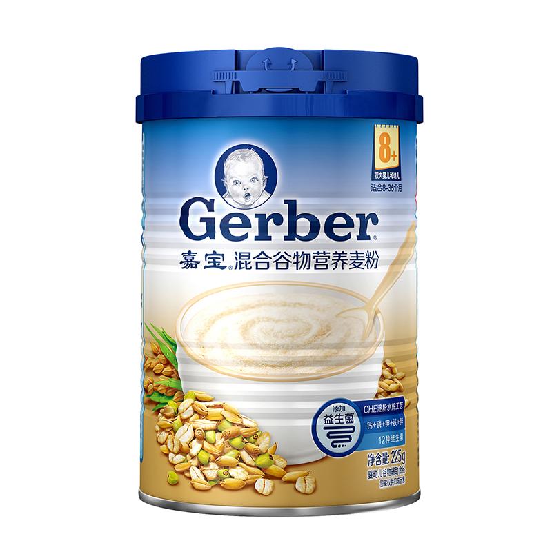 嘉宝Gerber混合谷物营养麦粉225g