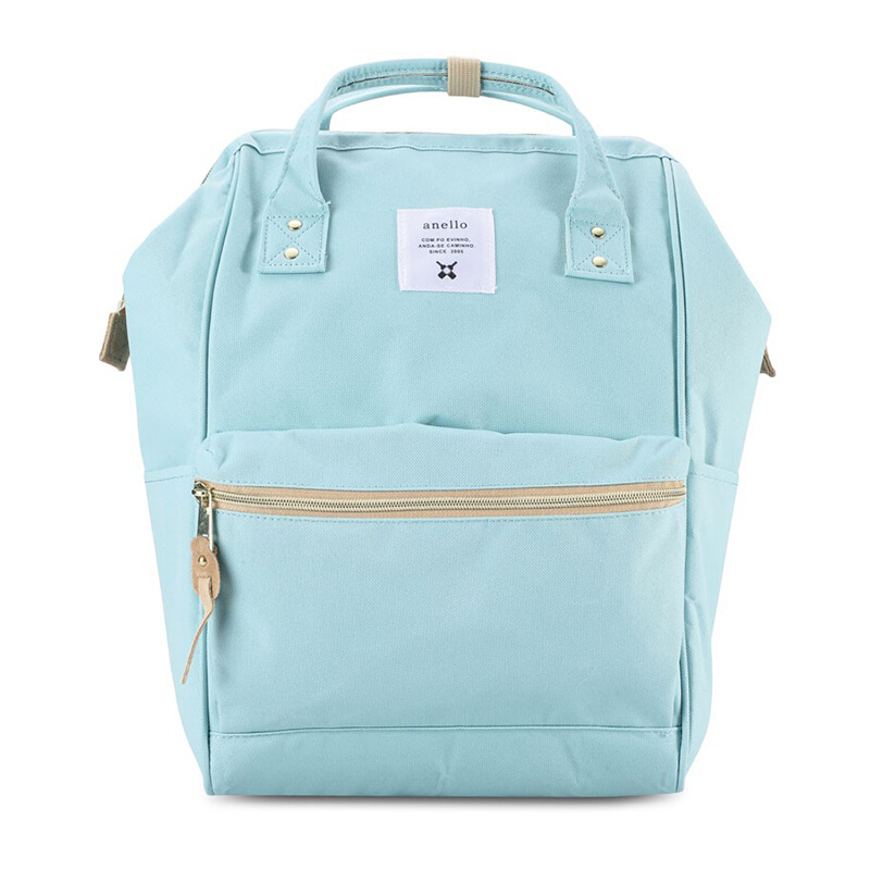 【全球购】日本anello大号双肩包AT-B0193A天蓝色保税区直发