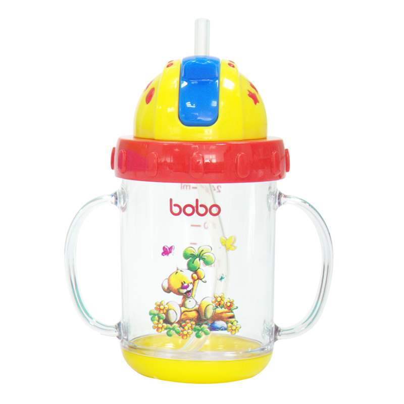 BOBO乐儿宝晶透学饮杯(240毫升)