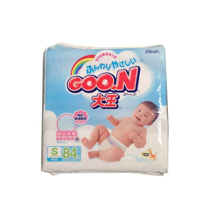 日本GOO.N大王维E系列纸尿裤S84片中包