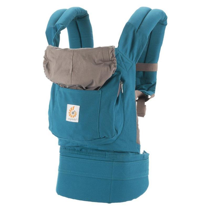 【乐海淘】美国Ergobaby基本款婴儿背带(蓝绿色)香港直邮