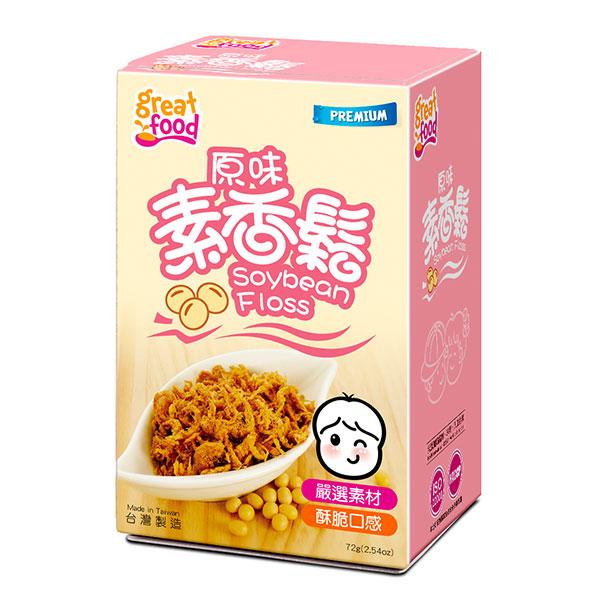 乐健儿GreatFood素香松(1岁以上)72g富含膳食纤维