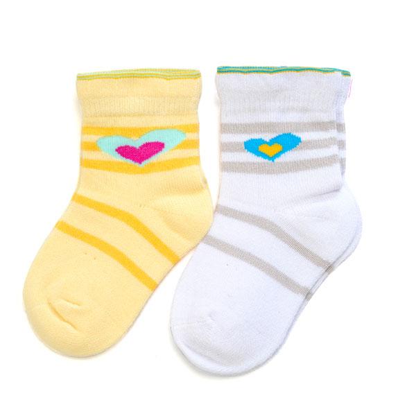 旭威(新)--爱心宝宝袜0530混色0-12个月月包