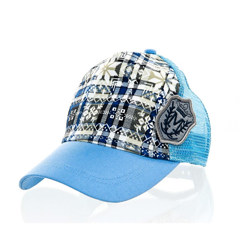 歌瑞凯儿(童配)--潮味豹纹帽GK141-015A蓝48码个