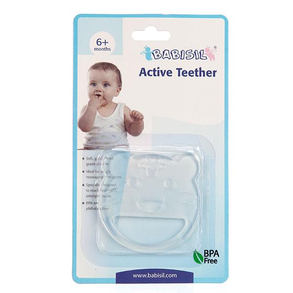 贝儿欣Babisil爱迪牙胶款式随机6个月以上宝宝适用宝宝牙胶