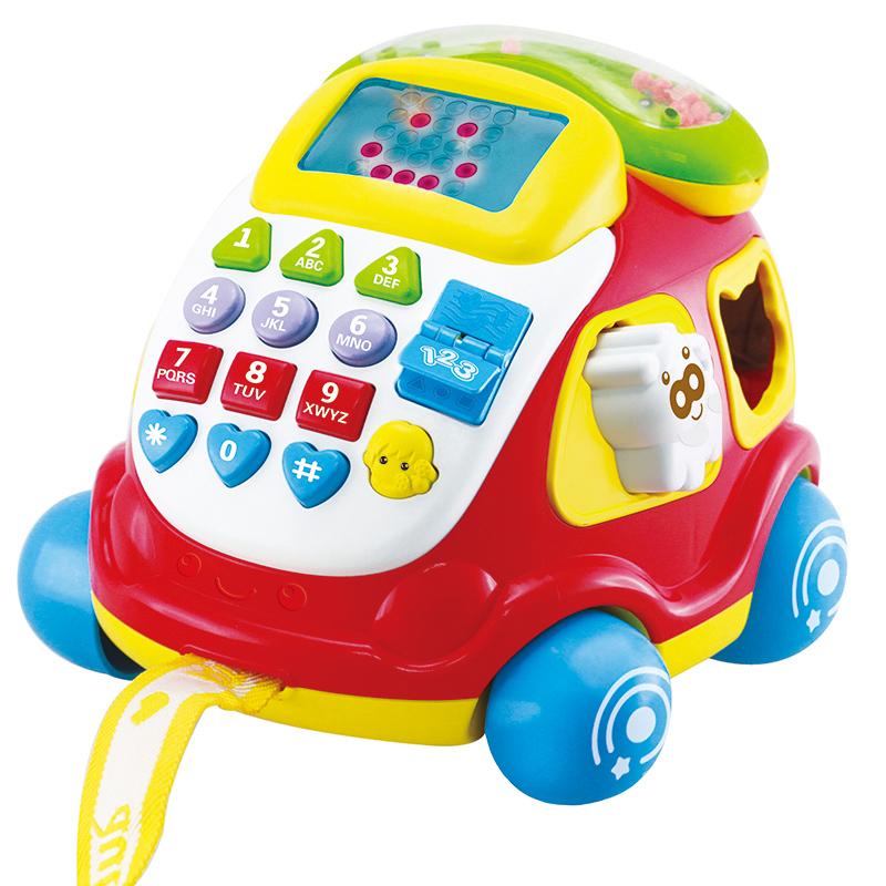澳贝(Auby)电子汽车电话儿童早教玩具