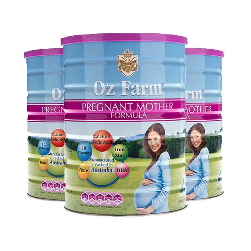 【澳洲直邮】Oz Farm 澳滋孕哺妈妈奶粉 900g*3罐