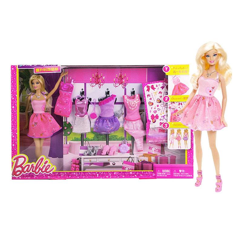 芭比(Barbie)设计搭配礼盒