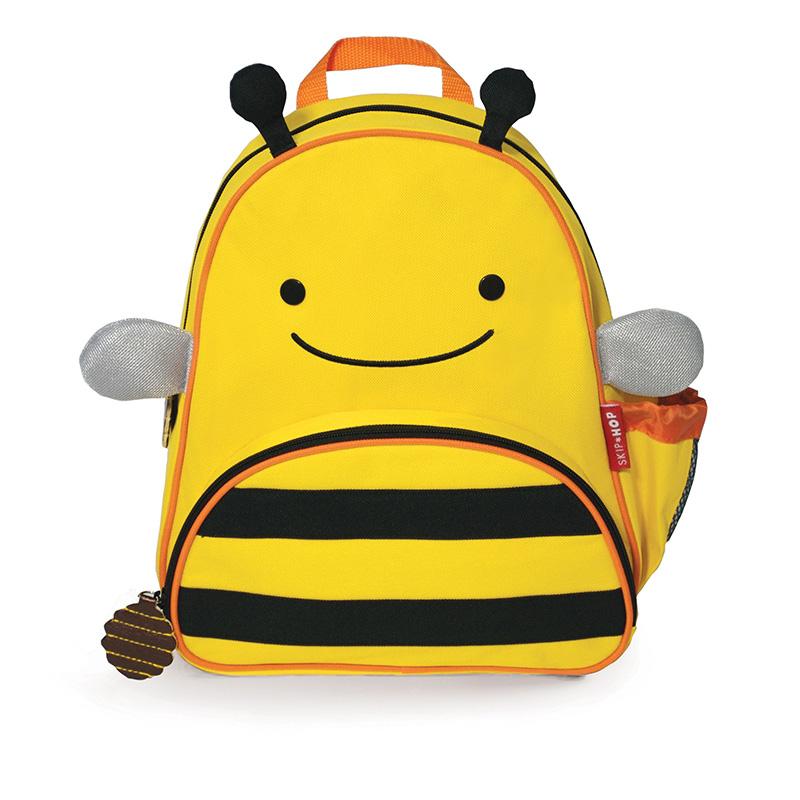 【美国直邮】美国SKIPHOP动物园迷你背包(附防走失带)-小蜜蜂