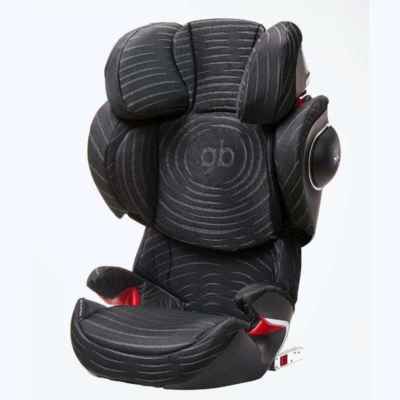 gb好孩子黑标安全座椅儿童汽车安全座椅宝宝座椅ELIAN-FIXPLUS(黑+ISOFIX)