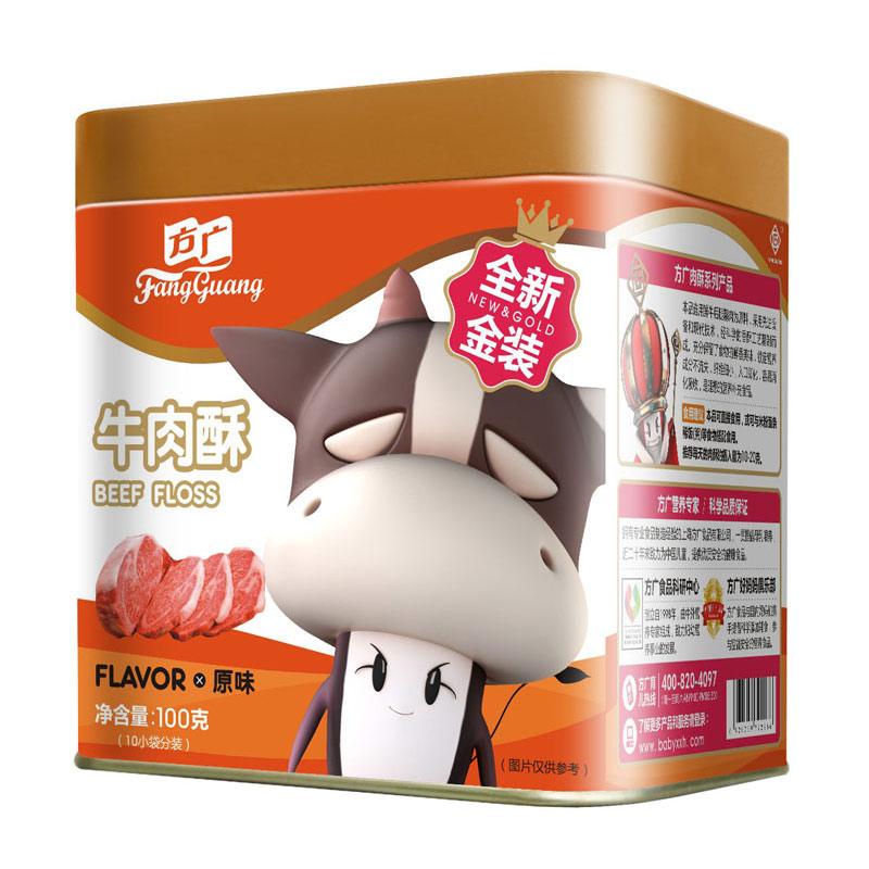 方广牛肉酥原味6个月以上100g