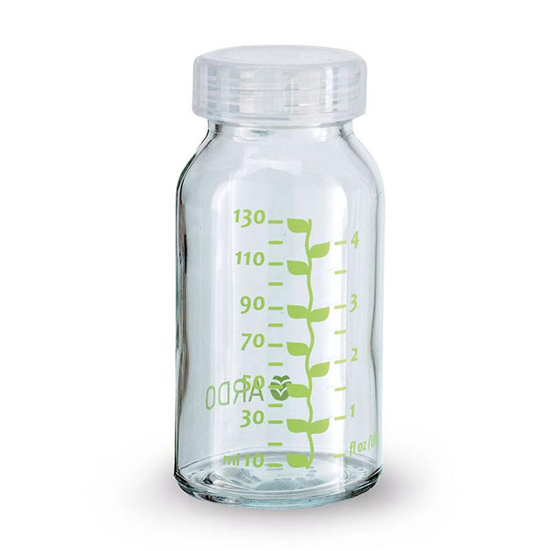 安朵ARDO瑞士进口玻璃储奶瓶130mlSIMAX玻璃耐高温