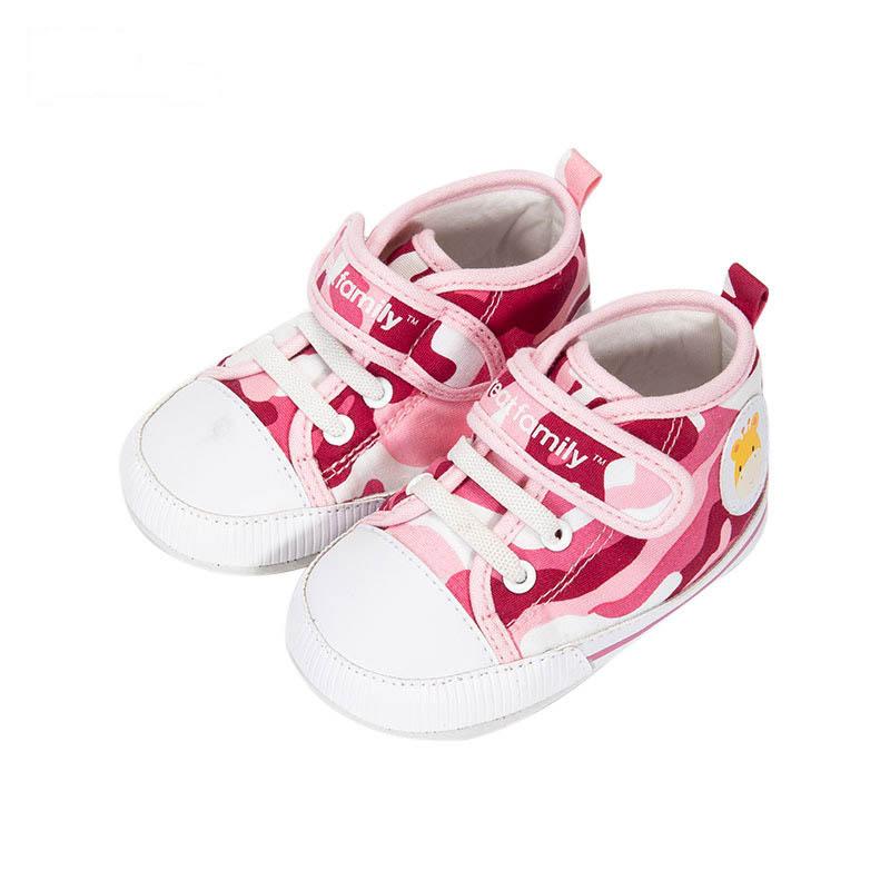歌瑞家女婴迷彩宝宝鞋